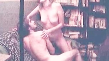 horny blonde vintage sex tape