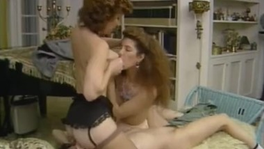 Old young lesbians - vintage threesome with Charlie Latour