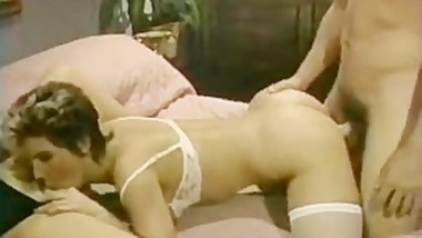 Keisha & Nikki Knights Star In Retro Threesome