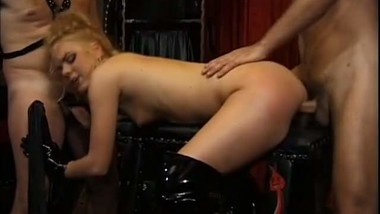 beautiful blonde Holly Fosters is a dominatrix