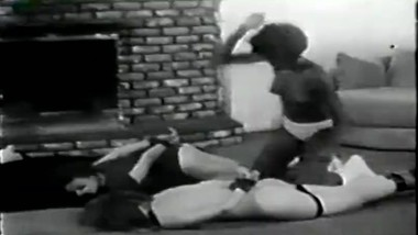1960's Interracial Whipping Scene