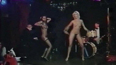 Black Stripper vs White Stripper - vintage 70's striptease