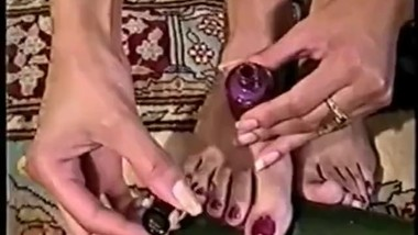 Vintage Crystal's Huge Feet Part 2