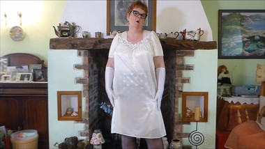 Selling this Cream Vintage Nightie on Ebay now