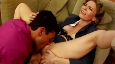 Horny MILF Ignores Business While Fucking
